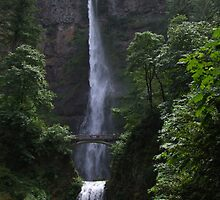 Multnomah Falls by GregBPhotos