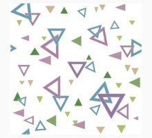 Abstract triangles seamless pattern with triangular shapes Kids Clothes