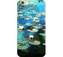 Lily Pond Impression iPhone Case/Skin