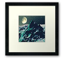 Night Mountains No. 2 Framed Print