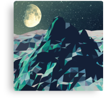 Night Mountains No. 2 Canvas Print