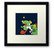 Yoshi Space  Framed Print