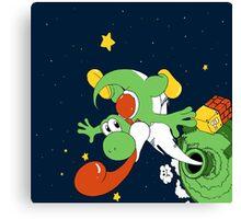 Yoshi Space  Canvas Print