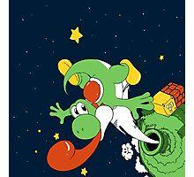 Yoshi Space  Photographic Print