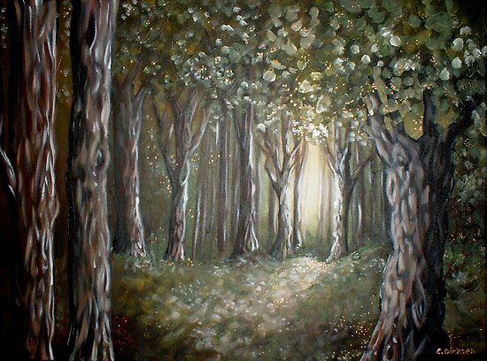 Forest Light by Cherie Roe Dirksen