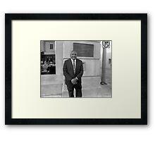 Carl T Rowan 1925-2000 Framed Print