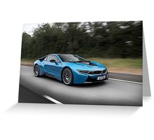 BMW i8 Greeting Card