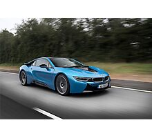BMW i8 Photographic Print