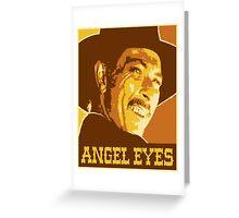 Angel Eyes Smile Greeting Card