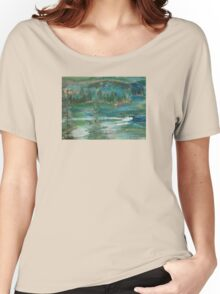 BOAT TRIP - ACRYLIC(C2012) Women's Relaxed Fit T-Shirt