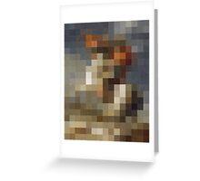 pixel naploeon Greeting Card