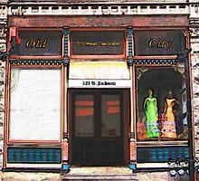 Vintage clothes shop by raindancerwoman