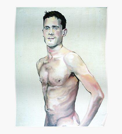 David in Portrait Poster