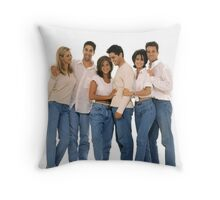 bluejean Throw Pillow