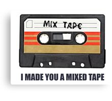 Mixed tape Canvas Print