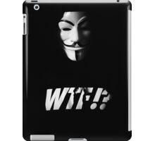 V goes wtf? iPad Case/Skin