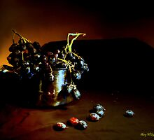 Grapes Still Life by Barry W  King