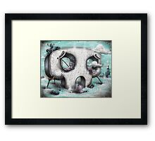 Channel Zero Framed Print