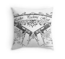ladiespackin Throw Pillow