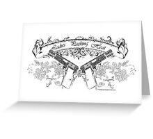 ladiespackin Greeting Card