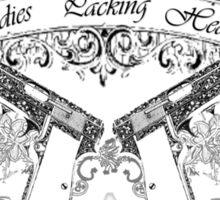 ladiespackin Sticker
