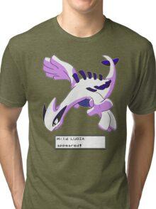 Wild Lugia Appeared! Tri-blend T-Shirt