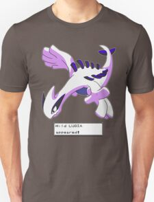 Wild Lugia Appeared! Unisex T-Shirt