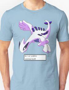 Wild Lugia Appeared! Unisex T-Shirt