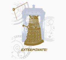 Dalek EXTERMINATE Fade Shirt Kids Clothes