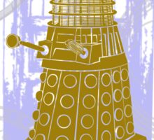 Dalek EXTERMINATE Fade Shirt Sticker