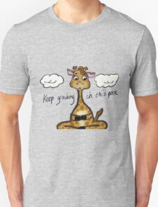 Yoga- Keep growing in this pose. Unisex T-Shirt