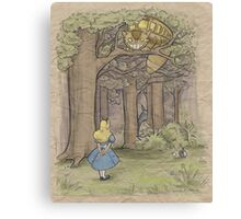 My Neighbor in Wonderland Canvas Print