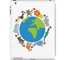 We Love Our Planet! iPad Case/Skin