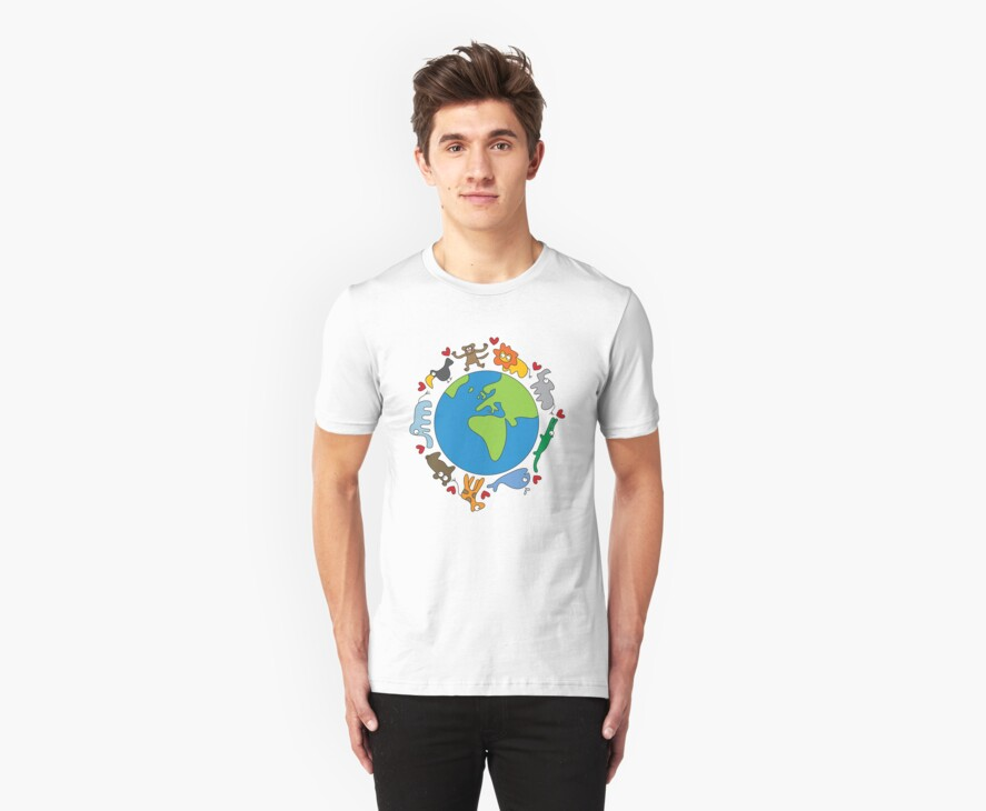 We Love Our Planet! by fatfatin