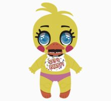 Five Nights at Freddy's Chunkstar Sticker -  Toy Chica by ChunkDesign