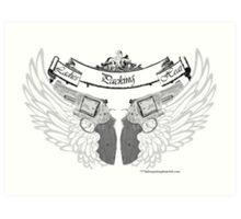 ladies wings Art Print