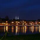 Deventer, Dutch City @ the IJssel River by marcovw