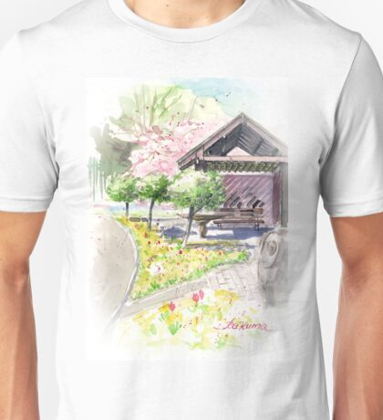 Spring in Maxell Cherry Gardens Unisex T-Shirt