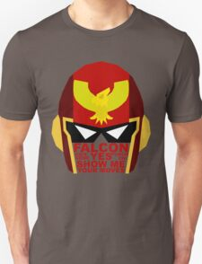 Show me your moves - captain falcon Unisex T-Shirt
