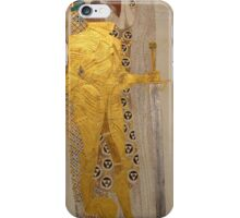 Knight Detail from the Beethoven Frieze by Gustav Klimt iPhone Case/Skin