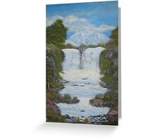 Twin Falls Greeting Card