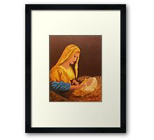The Word Was Made Flesh Framed Print