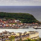 Scarborough from Oliver's Mount by Tom Gomez