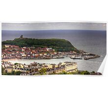 Scarborough from Oliver's Mount Poster
