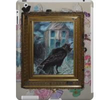 Two Crows - Framed iPad Case/Skin