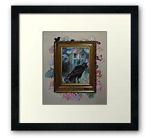 Two Crows - Framed Framed Print