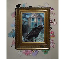 Two Crows - Framed Photographic Print