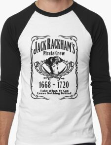 Jack Rackhams Pirate Crew Men's Baseball ¾ T-Shirt