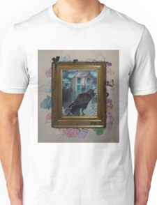 Two Crows - Framed Unisex T-Shirt