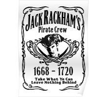 Jack Rackhams Pirate Crew Poster